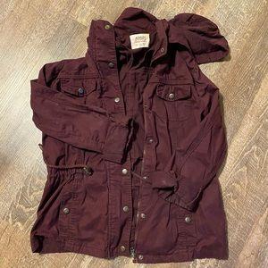 Purple Cargo Jacket